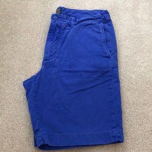J. Crew Stanton Shorts 33 waist 9 in inseam